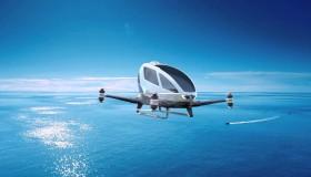 EHang 184, il drone-taxi a Dubai